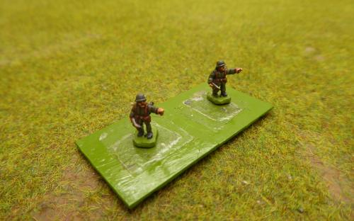 10mm WW2 German officers (Pendraken miniatures)