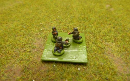 10mm WW2 German 50mm mortar (Pendraken miniatures)