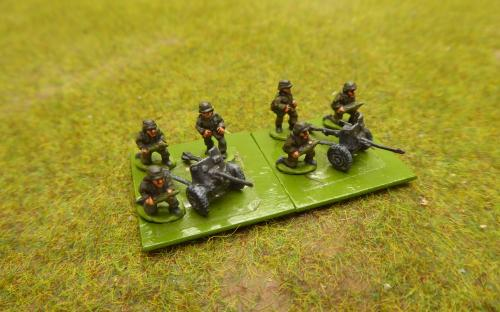 10mm WW2 German 50mm ATG (Pendraken miniatures)
