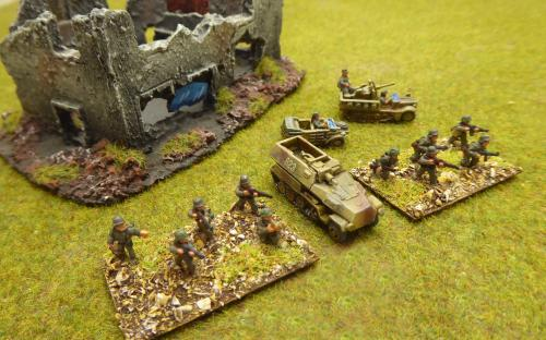 10mm WW2 German army (Pendraken miniatures)