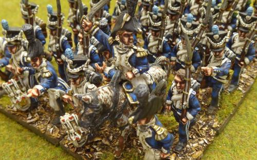 28mm Napoleonic Dutchy of Warsaw 4th, 7th, 9th Regiment (Front Rank miniatures)
