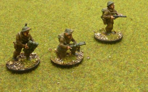 28mm Bolt Action WW2 British infantry. Painted by Reinforcements by Post in Bangladesh.