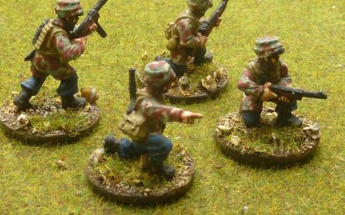 28mm Italian paratroopers
