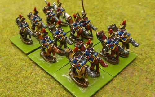 10mm Napoleonic Spanish Dragoons (Magister Militum miniatures)