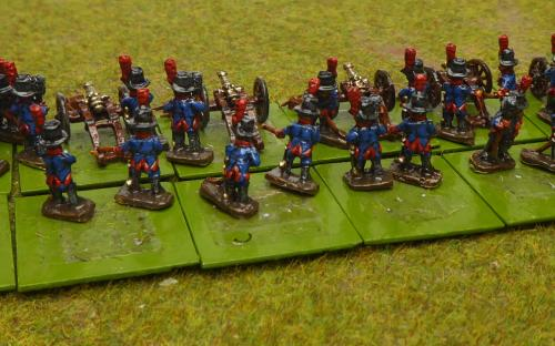 10mm Napoleonic Spanish foot artillery (Pendraken miniatures)Magister Militum