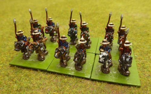 10mm Napoleonic Spanish irregular lancers (Magister Militum miniatures)