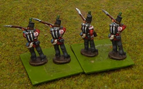 British 1st/45th Line infantry