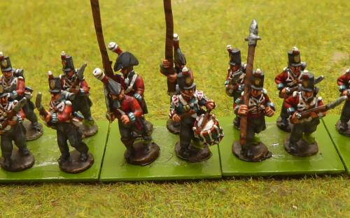 British 1st/45th Line infantry