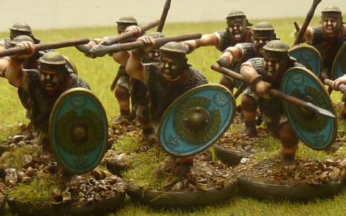 28mm Imperial Roman Auxilia (Warlord Games)