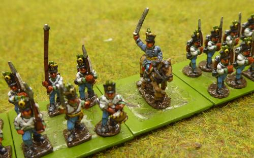 10mm Napoleonic Austrian line infantry and Grenadiers