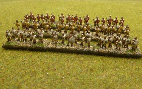 10mm Republican Roman skirmishers