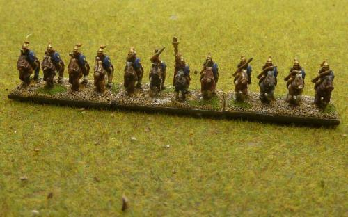 10mm Republican Roman cavalry
