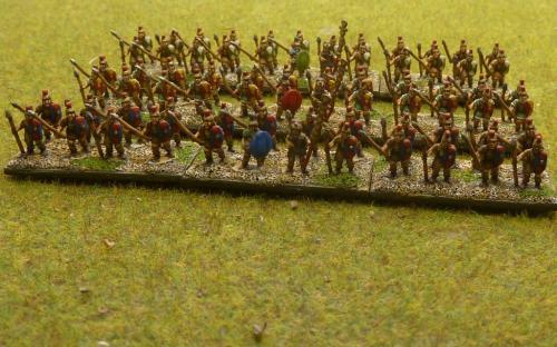 10mm Republican Roman allies