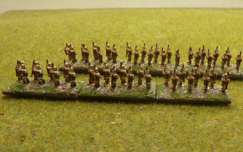 Light and heavy Roman archers