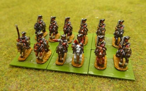 10mm War of the Spanish Succession French Bourbon Regiment (Pendraken miniatures)