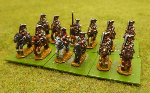 10mm War of the Spanish Succession French Forsat Regiment (Pendraken miniatures)