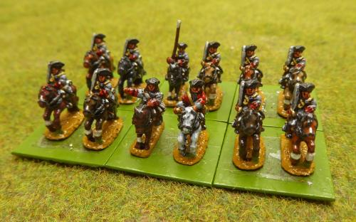 10mm War of the Spanish Succession French Cayeux Regiment (Pendraken miniatures)