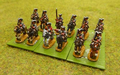 10mm War of the Spanish Succession French Colonel General Regiment (Pendraken miniatures)