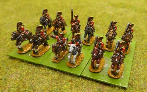 10mm War of the Spanish Succession French St Sylvestre Regiment (Pendraken miniatures)