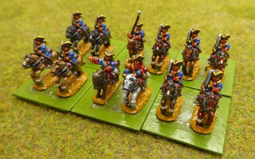 10mm War of the Spanish Succession French Garde Francais Regiment (Pendraken miniatures)