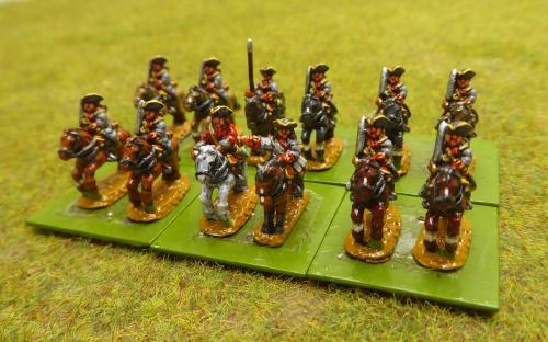 10mm War of the Spanish Succession French Soissons Regiment (Pendraken miniatures)