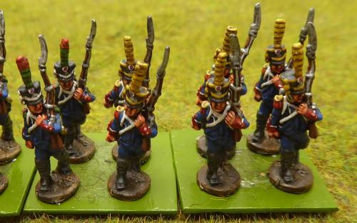 15mm Napoleonic French 6th Legere regiment (Blue Moon figures)