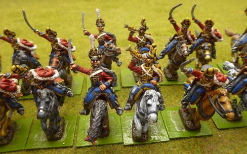 Russian Life Guard Hussars (Elite miniatures)