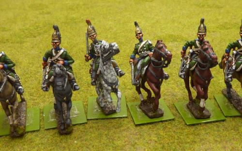 Russian Chernikov Dragoon Regiment (Elite miniatures)
