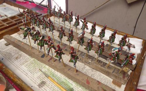 Russian Pavlograd Hussars (Elite miniatures)
