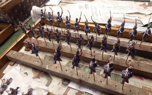 Russian Izsoum Hussars (Elite miniatures)