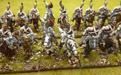 Napoleonic Russian His Majesties Cuirassier (Elite miniatures)