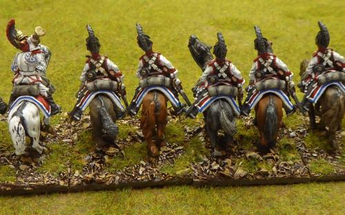 Napoleonic Russian Cheveauleger Guard Regiment (Elite miniatures)