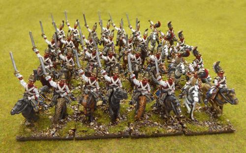 28mm Napoleonic Russian Life Guard Horse Cuirassier (Elite miniatures)