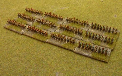 6mm Napoleonic Spanish army (Baccus miniatures)