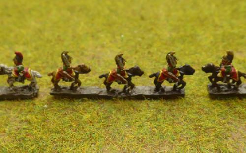 6mm Napoleonic Austrian Cheveauleger (Baccus miniatures)