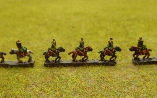 6mm Napoleonic Austrian Hussars (Baccus miniatures)