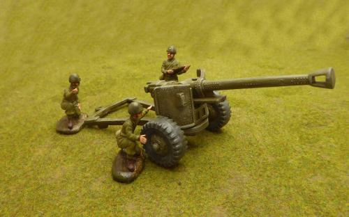 54mm WW2 Japanese gun