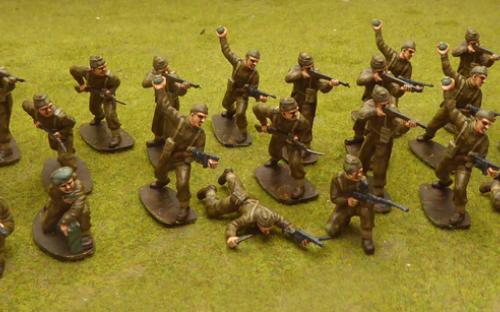 54mm WW2 British Commandos