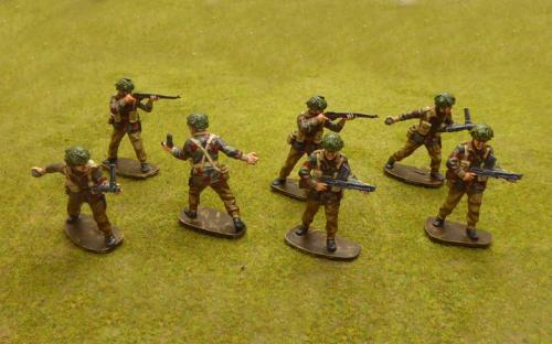 54mm WW2 British Paratroopers