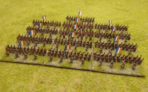 FPW French Imperial infantry (Baccus miniatures)