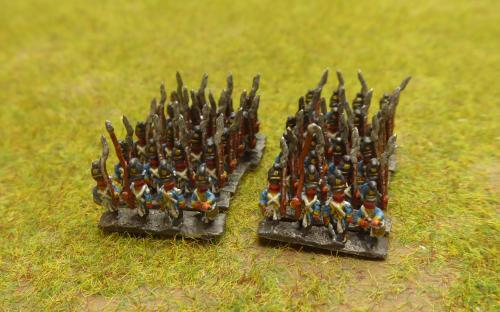 Bavarian line line infantry (Baccus miniatures)