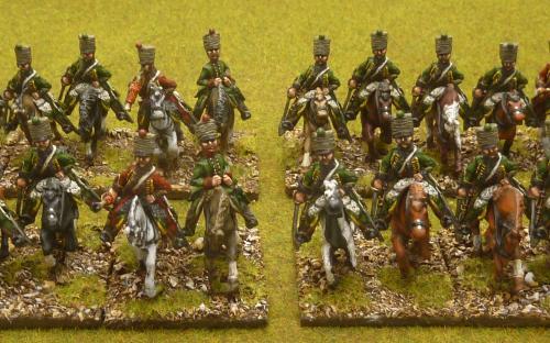 28mm Napoleonic Baden Hussars (Bicorne miniatures)