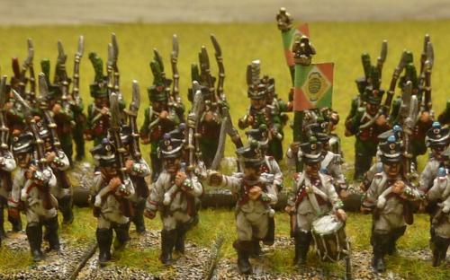 15mm Napoleonic Italian Line and Light infantry (Blue Moon castings)