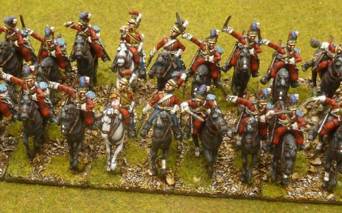 28mm Napoleonic British Household cavalry (Life Guards) Elite miniatures