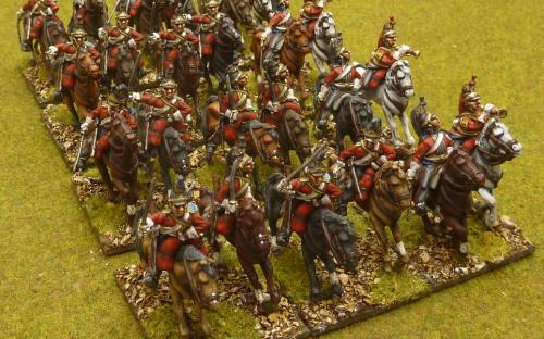 28mm Napoleonic British 1st Dragoon Guards (Elite miniatures)