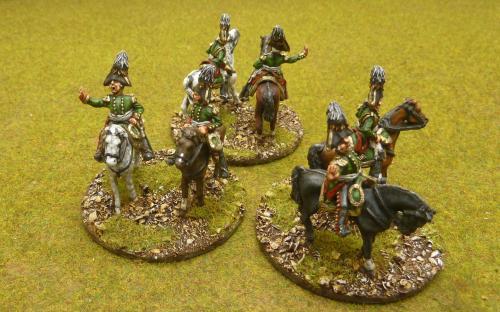 28mm Napoleonic Russian Generals (Elite Miniatures)