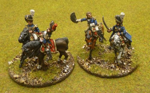 28mm French Napoleonic Generals (Perry Miniatures and Elite miniatures)