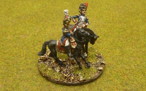 28mm Napoleonic French Generals (Perry Miniatures and Elite miniatures)