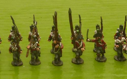 British Napoleonic 51st Light infantry (Blue Moon miniatures)