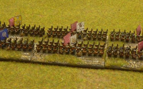 6mm AWI British army (Baccus miniatures)